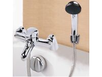 Chrome Bath Filler Hand Held Shower Mixer Tap Bathroom Taps 3 Function+