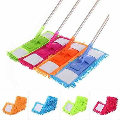 Replacement Cleaning Head - Flat Mop Household Mop Head Replacement Microfiber Floor Dust Cleaning Pad