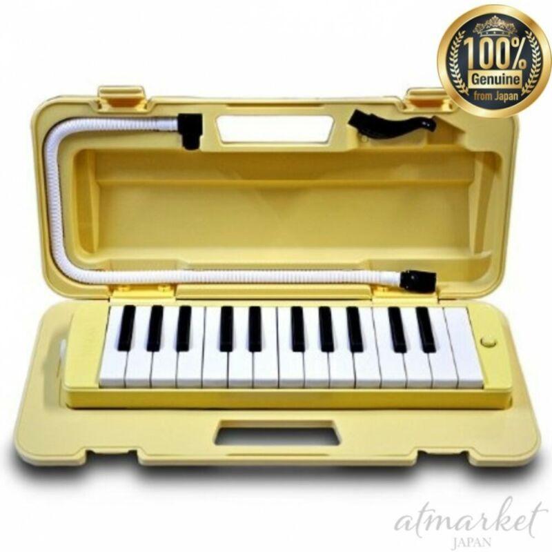 YAMAHA Pianica P-25F 25 keys Cream yellow  NEW