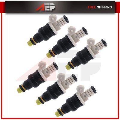 - 6 Fuel Injectors for Ford F-150 F-250 F-350 4.9L l6 0280150710 0280150727