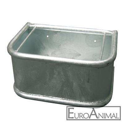 Futtertrog Stahl verzinkt Rechtecktrog Pferdetrog Rinder Trog Krippe Metall
