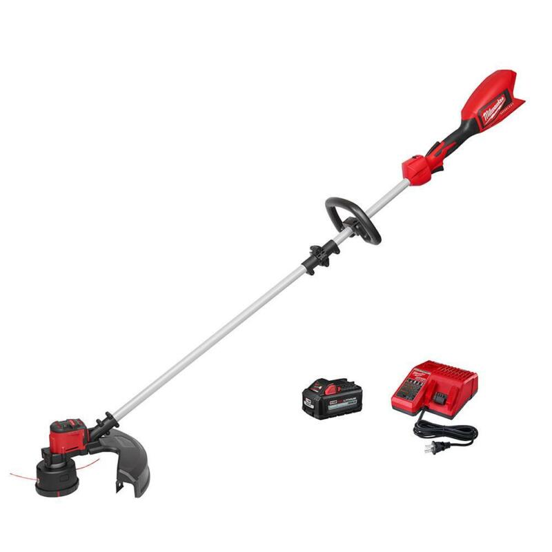 Milwaukee M18 18-Volt Lithium-Ion Brushless Cordless String Trimmer Kit with 6.0