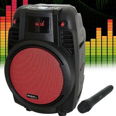 Party PA Hi-Fi Beschallung Musik Anlage MP3 USB SD Bluetooth Aufnahmefunktion