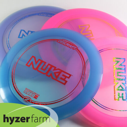 Discraft Z NUKE *choose your weight and color* Hyzer Farm disc golf driver