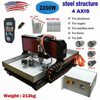 Steel Cnc 6090 4axis 2.2kw Mach3 Engraver Cutting Linear Guide For Metal Copper