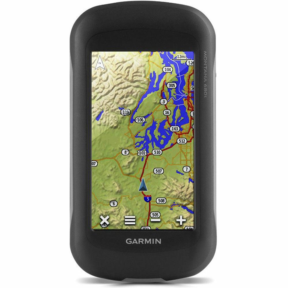 Garmin Montana 680t GPS / GLONASS con cámara y mapas TOPO precargados 010-01534-11