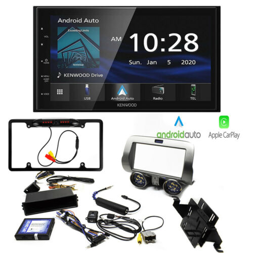 kenwood Apple Carplay Car Stereo Receiver  kit for Chevrolet Camaro Kit 2010-15