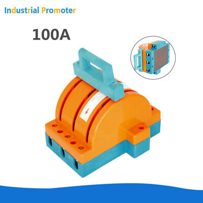 100a 3 Poles 220v380v Circuit Breaker Double Throw Disconnect Knife Switch 3p