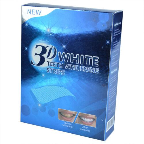 28 Strips Zahnweiß Zahnaufhellung Streifen 3D Whitestrips Weiss Zähne Bleaching
