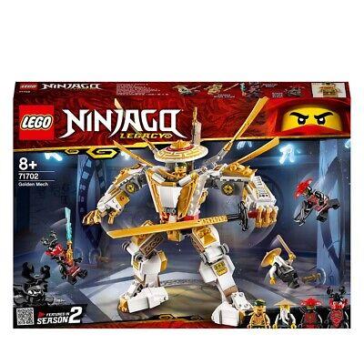 LEGO NINJAGO Legacy Golden Mech Building Set 71702 Age 5+ 489pcs