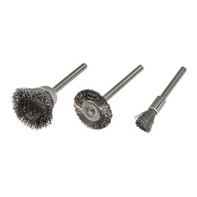 TradesPro 3 Pc Wire Brushes - 837795