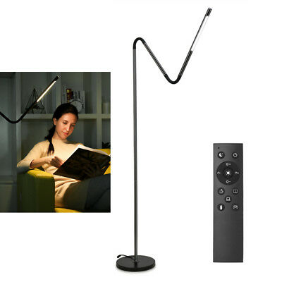 Led Floor Lamps (LE Modern Touch LED Floor Lamp Remote Control Flexible Gooseneck Standing Light )