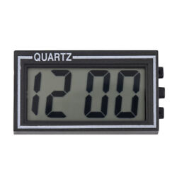 Digital LCD Clock Table Car Dashboard Desk Date Time Calendar Small High Quality