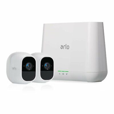 Arlo VMS4230P-100NAR Pro 2 Wire-Free 2 Cameras System - Certified Refurbished