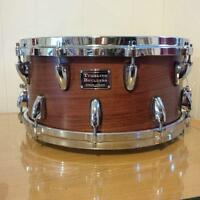 6.5 x 14 custom walnut snare - single ply shell