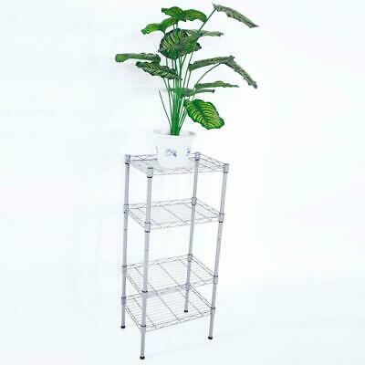 4 Tier 14x10x32 Shelves Wire Shelving Rack Shelf Adjustable Storage Organizer