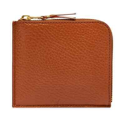 Comme Des Garçons SA3100IC Brown Grained Leather Unisex Wallet BNIB $139 50% OFF