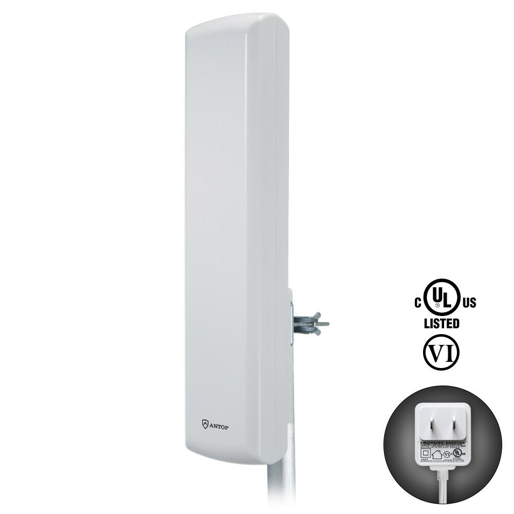 ANTOP HDTV Outdoor Indoor Flat Pannel TV Antenna for Digital