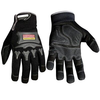 Craftsman Heavy Duty Utility Gloves Carpentry Work Durable Protection Grip -