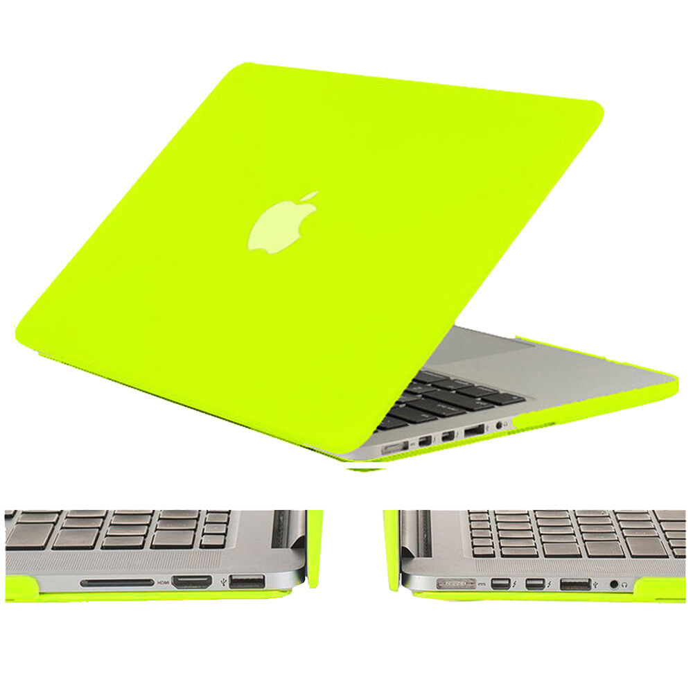 """Rubberized Shockproof Hard Case Cover for Macbook Air & Pro & Retina 11"""" 13"""" 15"""""""
