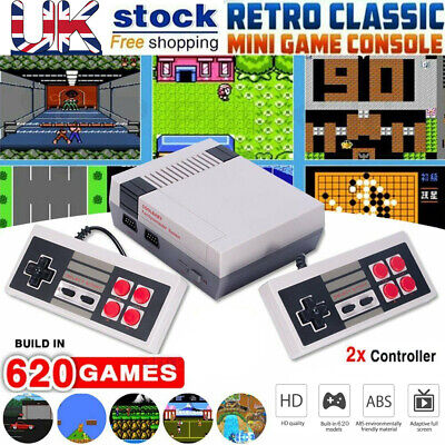 620 in 1 game Classic Mini Console for NES Retro with Gamepads...
