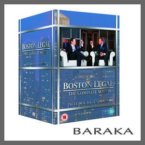 BOSTON LEGAL Complete TV Series 1 2 3 4 & 5 DVD Box Set 1-5 R2