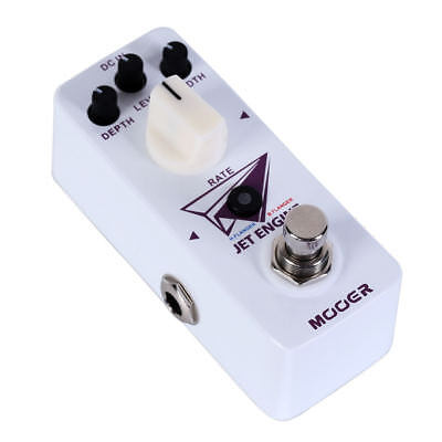 Mooer JET ENGINE Dual Digital Flanger Micro Guitar Effects Pedal