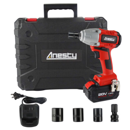"Brushless Cordless Impact Wrench 1/2"" Square Impact Wrench 4"