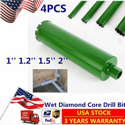 Wet Diamond Core Drill Bit For Concrete-premium Green 11.21.5 2 Us Stock