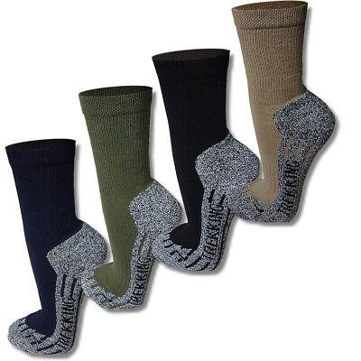Baumwolle Socken Wandern (Coolmax® Trekkingsocken Wandersocken Funktionssocken  Sport Socken Gr. 35 - 49)