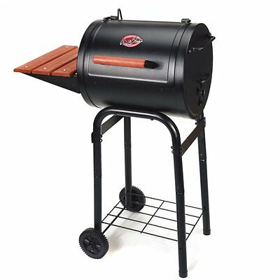 Char Griller Patio Pro Charcoal Grill - Without Cover, Black, 250 sq. in.