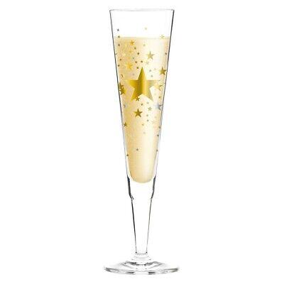 Ritzenhoff Designer Champus, Champagnerglas STERNE by Ellen Wittefeld 2016