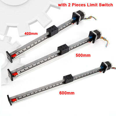 Cnc Linear Rail Guide Slide Stage Actuator Screw Motion Table Limit Switch Sale