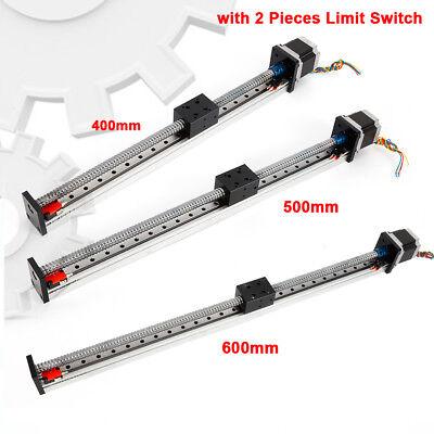 Linear Actuator Slide Stage Ball Screw Rail Guide Motion Table Nema23 Motor 24v