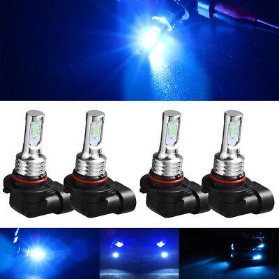 4PCS 9006 HB4+9005 HB3 8000K Ice Blue 35W LED High&Low Conversion Beam Light