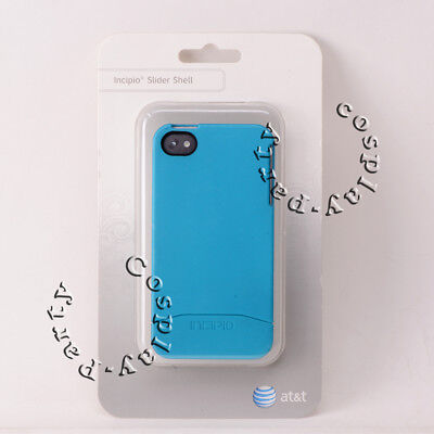 Incipio Slider Shell EDGE Case For Apple iPhone 4 iPhone 4s - Turquoise Blue