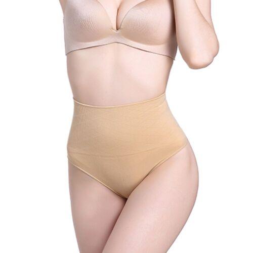 Women Slimming Briefs Body Shaper Panties Seamless G-String Thong Butt Lifter