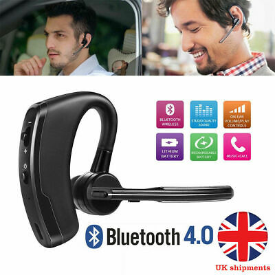 Wireless Bluetooth 4.0 Mini Headphone Car Headset Stereo Earpiece Handsfree Kit