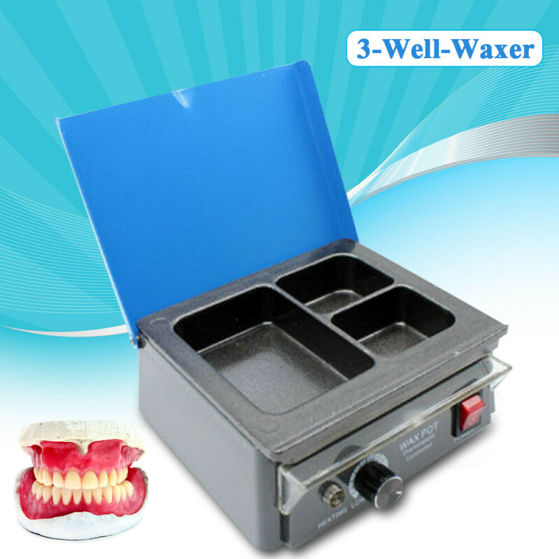 Dentist Paraffin Melting Pot - Analog Candle Dipping Heater Melter Lab Equipment