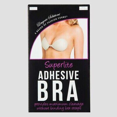 Fashion Forms Women's Superlite Adhesive Strapless Backless Bra DD Fashion Forms Adhesive Bra