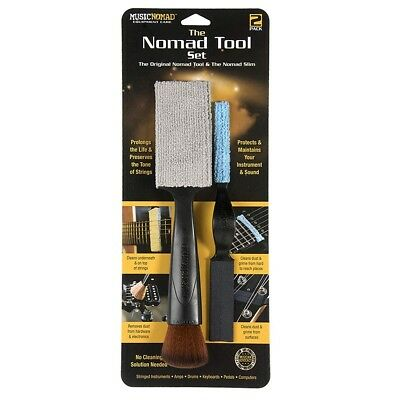 Music Nomad MN204 Tool Cleaning Set String Instruments Amp Drums Keyboards Pedal
