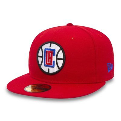 New Era 59FIFTY NBA Los Angeles Clippers Authentic Team Classic Hat Fitted Cap Angels Authentic Team Cap