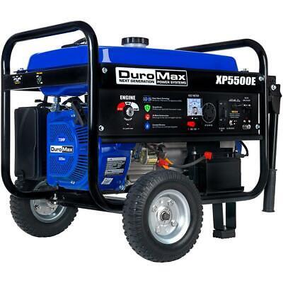 DuroMax XP5500E 5,500-Watt 7.5 HP Electric Start ...
