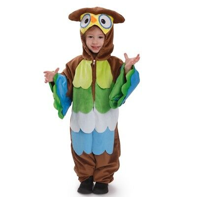 Dress Up America Kids s Hoo Hoo Owl Pretend Play Costume Outfit for - Owl Dressed Up For Halloween