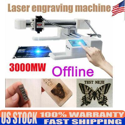 3w Offline Laser Engraver Kit Engraver Printer Cnc Woodplasticleather Carving
