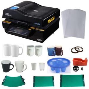 3D Vacuum Sublimation Mug KIT 000953