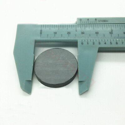 Lots Dia30mm Thick5mm Disc Ferrite Y30bh Magnets Black Strong Round Magnet