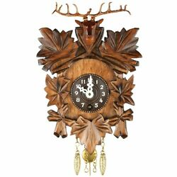 Alexander Taron Deer Head Key Wound Cuckoo Clock, Wood