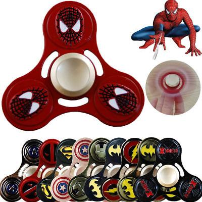 Fidget Spinner Finger Spin EDC Alloy Bearing Anti Stress The Avengers Heros UK