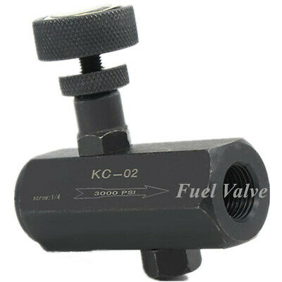 Control Valve 14 Npt Steel Fluid Flow Pressure Regulating Throttle Valve